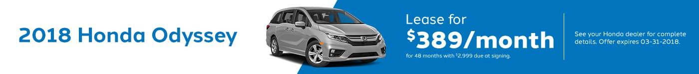 Odyssey March Offer Genthe Honda