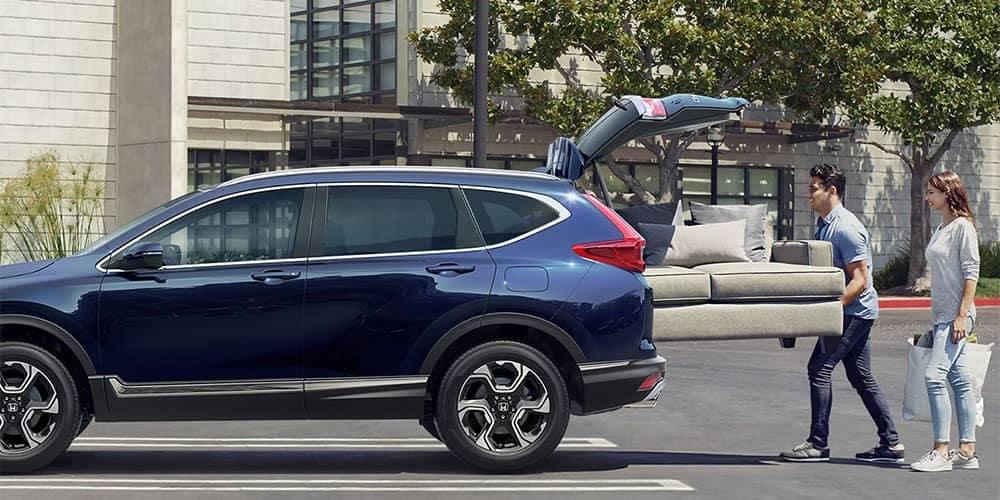 2018 Honda CR-V Couch in back