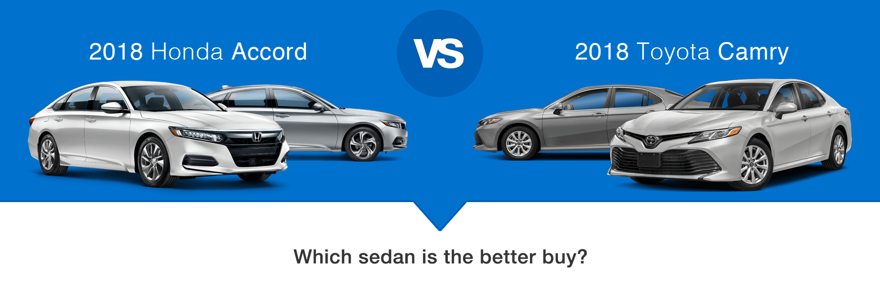 2018 Honda Accord vs 2018 Toyota Camry Which Sedan is the better buy?
