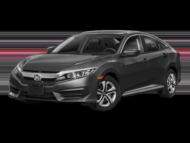 New 2018 Honda Civic LX FWD (CVT) 4D Sedan