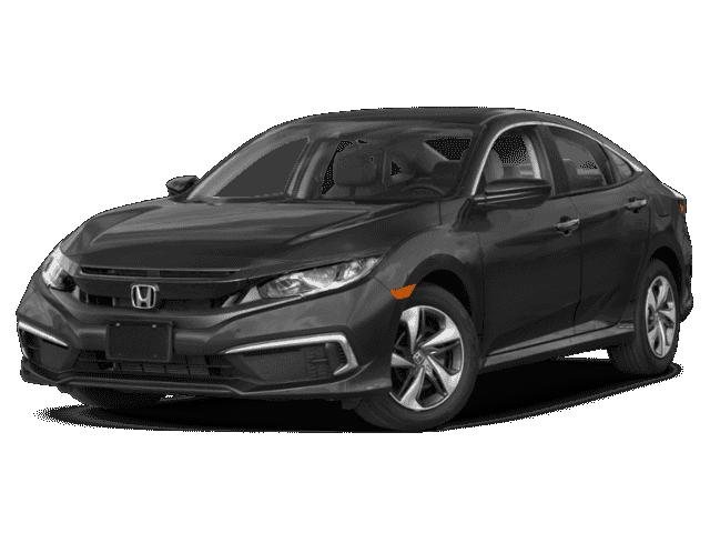 New 2019 Honda Civic LX FWD 4D Sedan