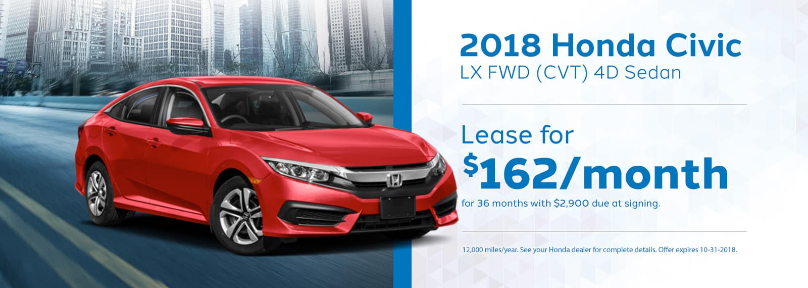 Genthe Honda Civic LX Special October Homepage