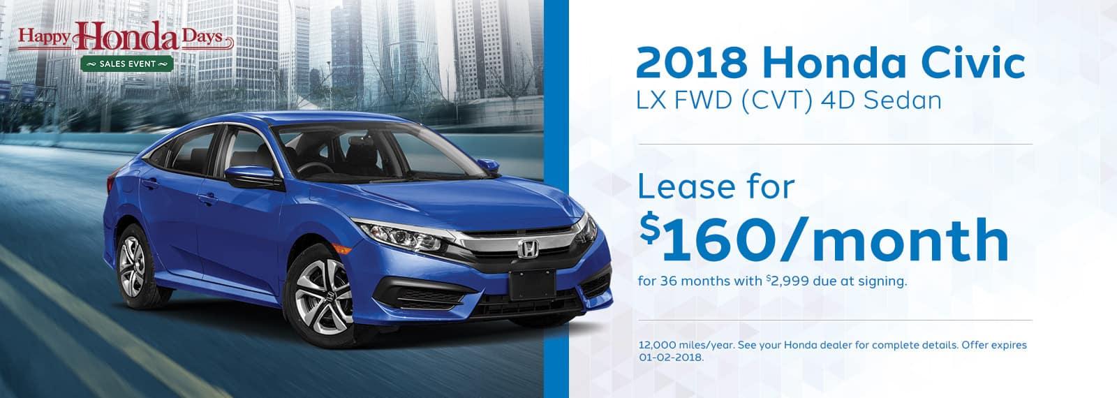 GENHONDA_Happy Honda Days Homepage_1600x570_Civic-LX-Sedan-