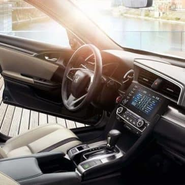 2019 Honda Civic front interior