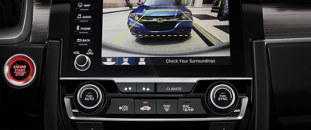2019 Honda Civic safety features