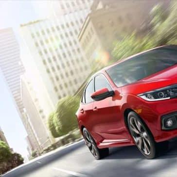 2019 Honda Civic red exterior