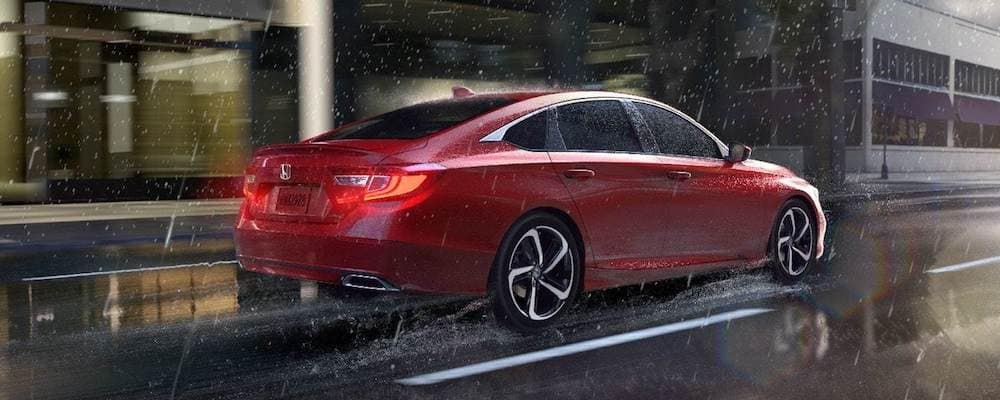 2019 accord driving in rain
