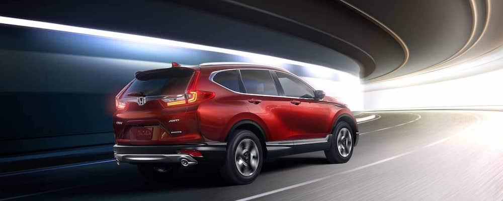 2019 cr-v driving in tunnel