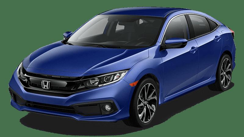 2019 civic aegean blue metallic