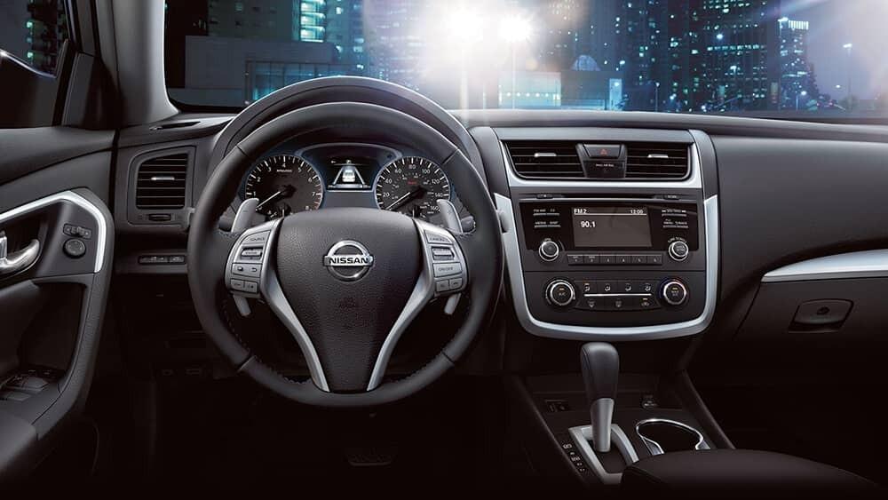 2017 Nissan Altima Dash