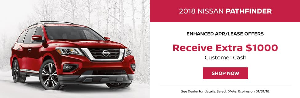 Pathfinder January Lease Offer