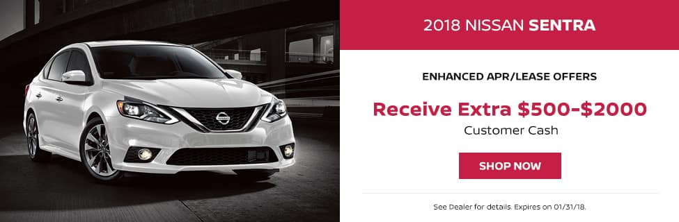 Sentra January Lease Offer