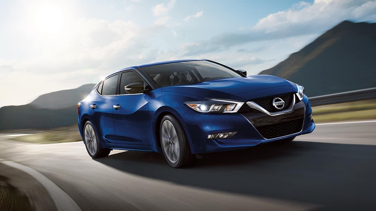 2018 Nissan Maxima Blue