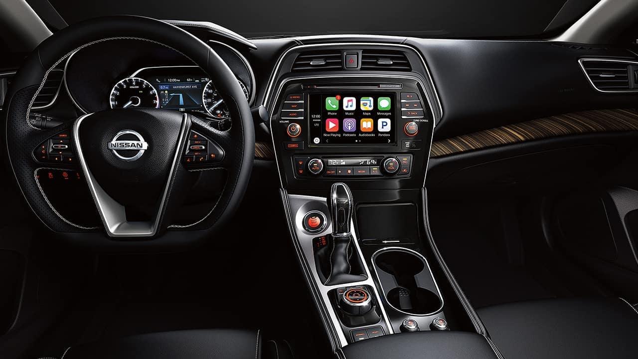 2018 Nissan Maxima Dash