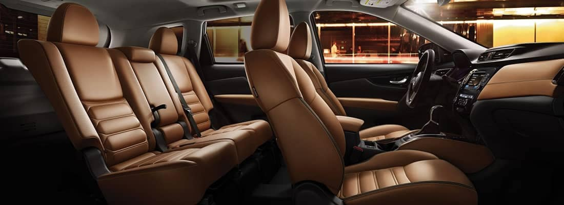 Nissan Rogue Interior Features Gerald Nissan Of Naperville