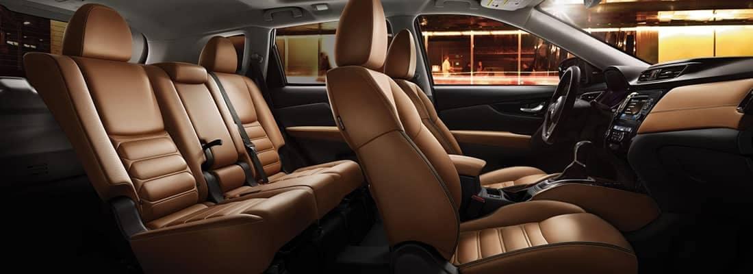 2018 Nissan Rogue Seating