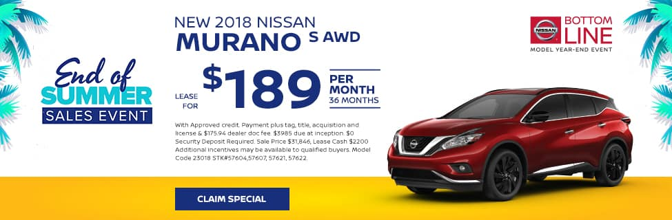 August Murano Offer