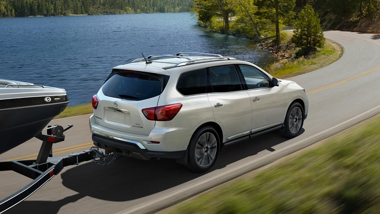2018 Nissan Pathfinder Towing