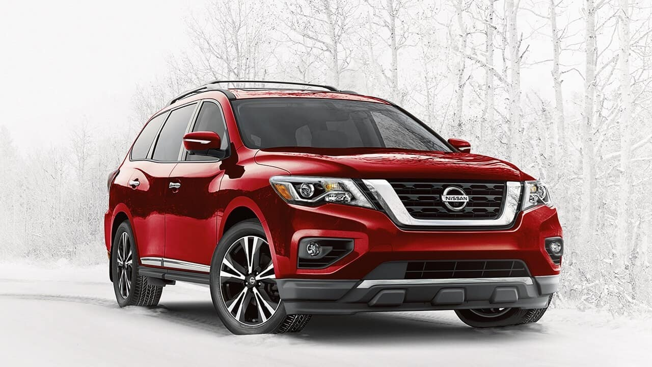 2018 Nissan Pathfinder Red