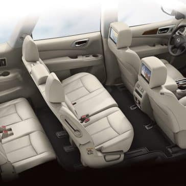 2018 Nissan Pathfinder Seating