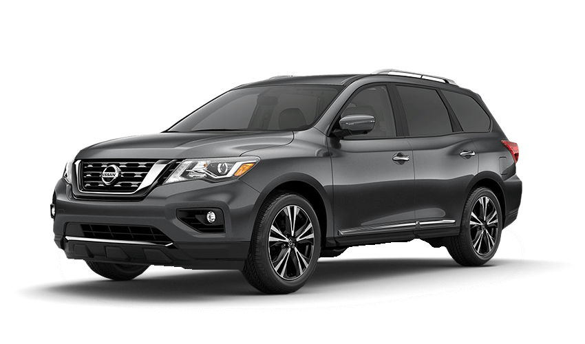 2018 Nissan Pathfinder in Gun Metallic