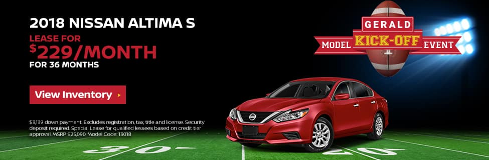 Altima S Kick Off Event Offer