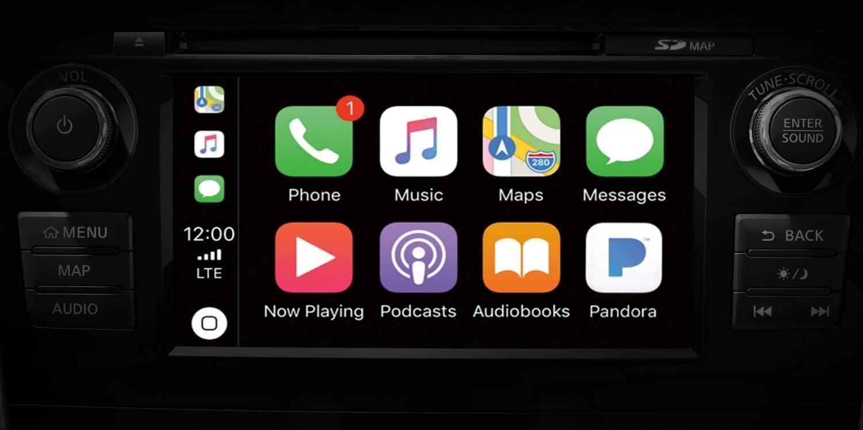 2018 Nissan Altima Apple Carplay