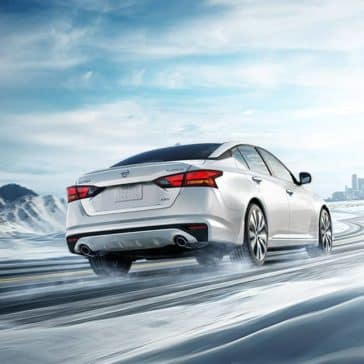 2019 Nissan Altima In Snow