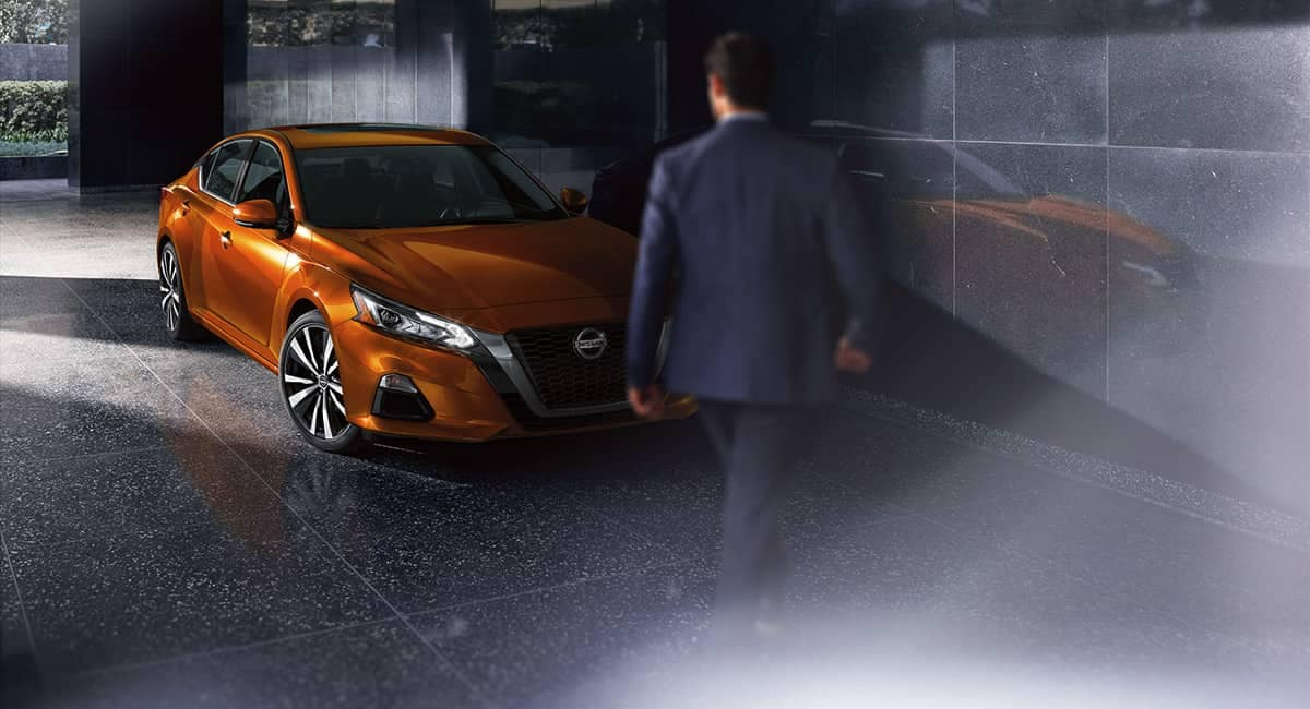 2019 Nissan Altima Orange