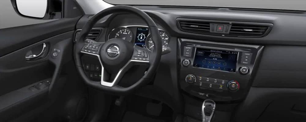 2019 Nissan Rogue Interior Cabin