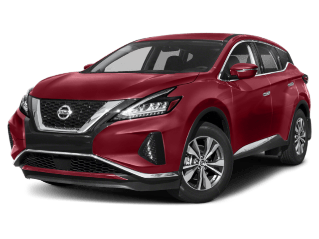 2019 Nissan Murano in red