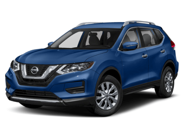 2019 Nissan Rogue in blue