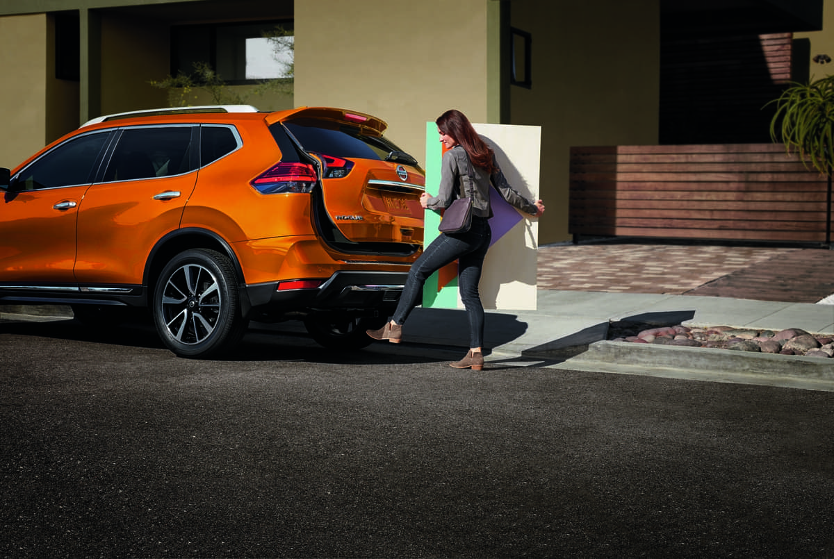 2019 Nissan Rogue liftgate feature
