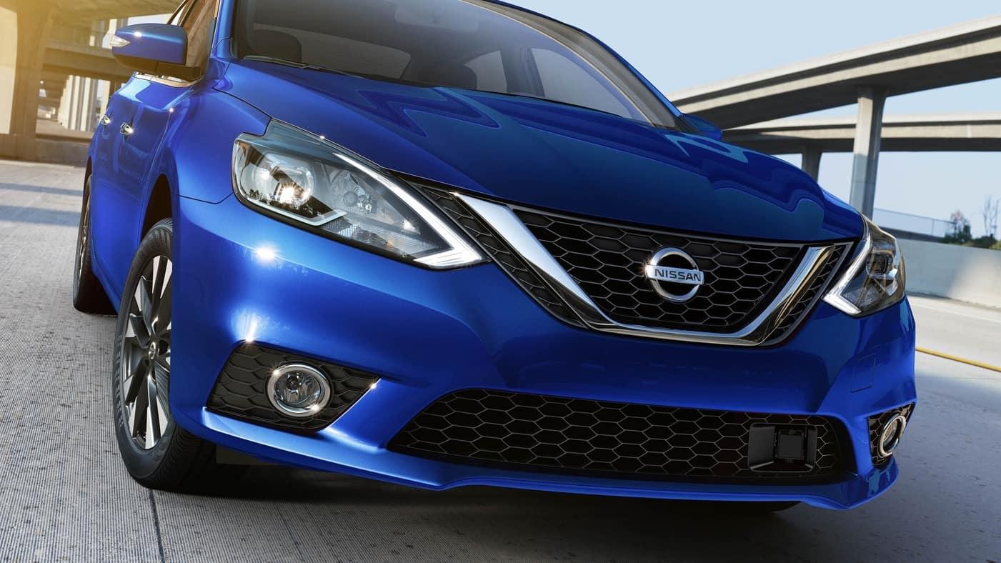 2019 Nissan Sentra in blue