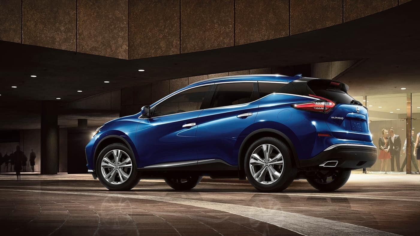 2020 Nissan Murano view from rear