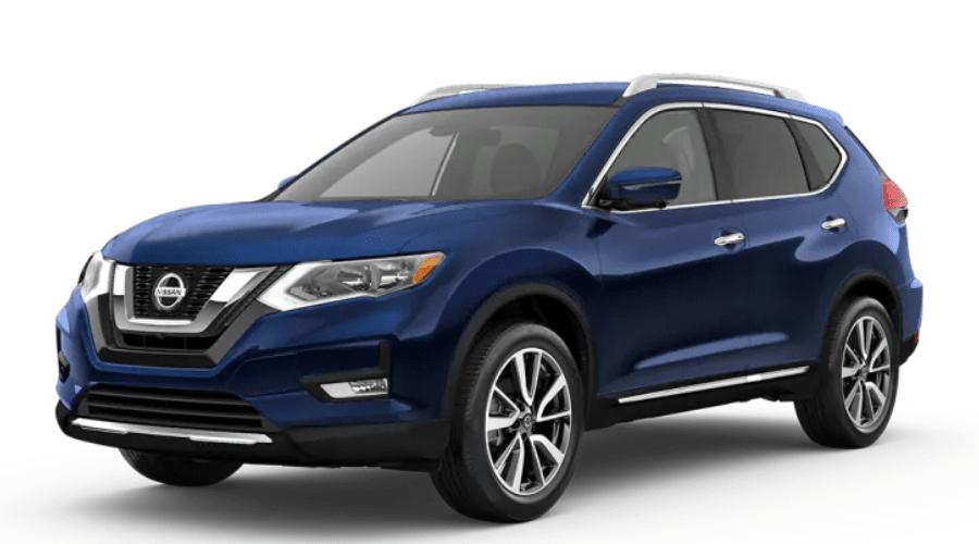 2020 Nissan Rogue in Caspian Blue