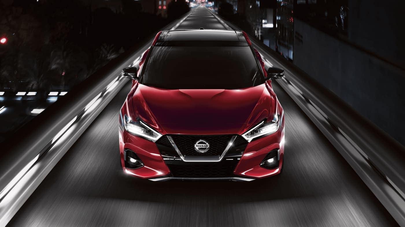 2020 Nissan Maxima driving