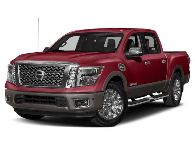 2019 Nissan Titan in red