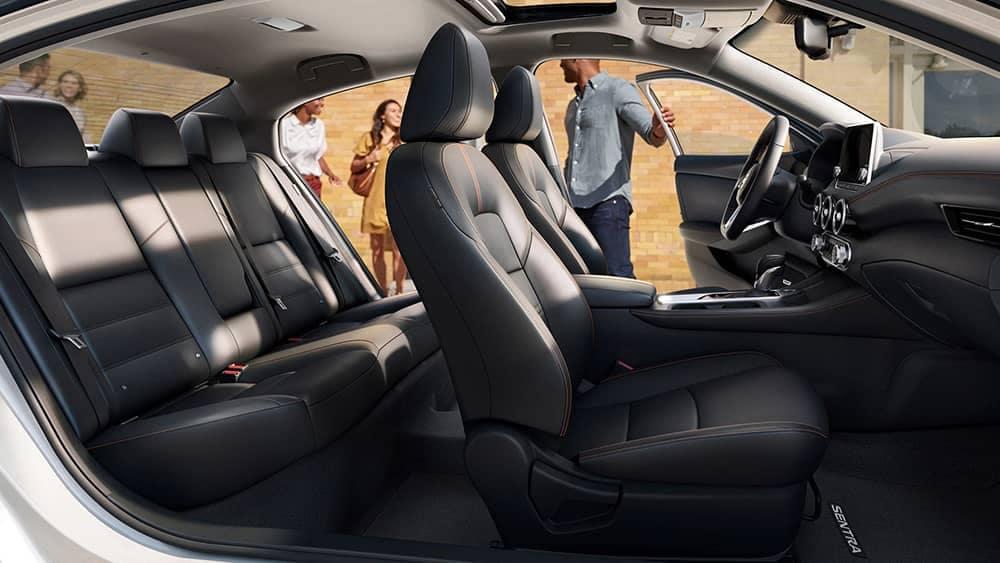 2020 Nissan Sentra Seating