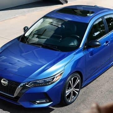 2020 Nissan Sentra Parked