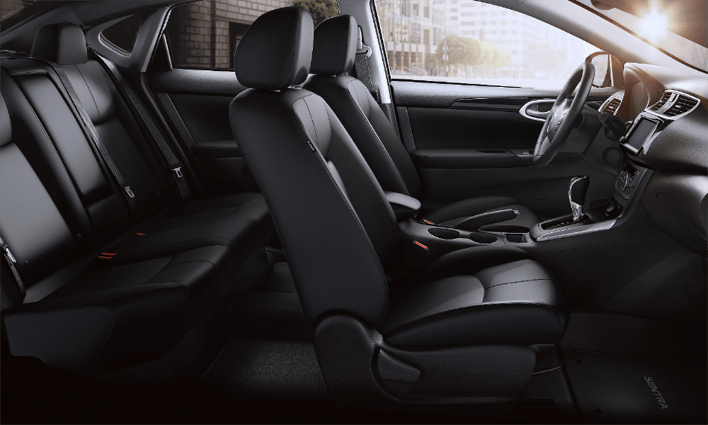 2019 Nissan Sentra interior side view