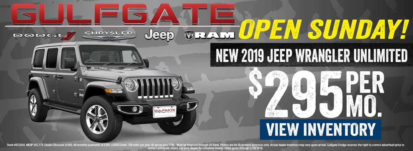 Jeep Dealership Houston >> Gulfgate Chrysler Dodge Jeep Ram Dealerership Houston Tx
