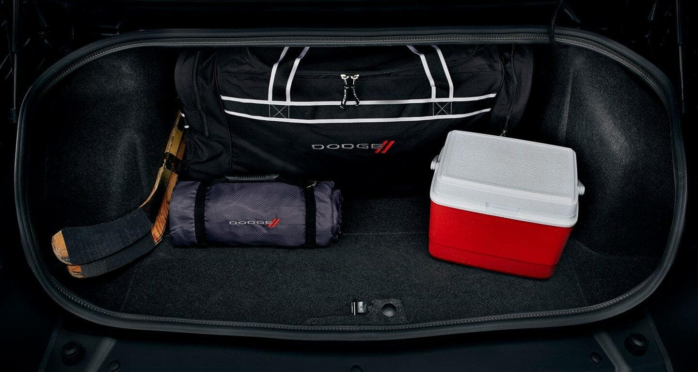 2019 Dodge Challenger Trunk space