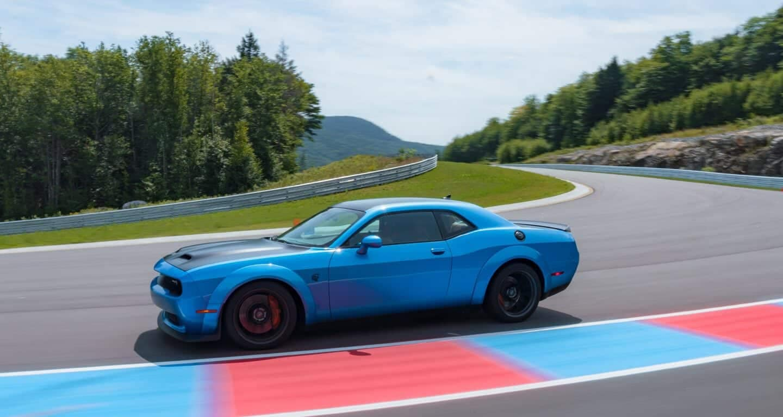 2019 Dodge Challenger On Racetrack