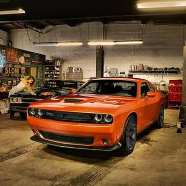 2020 Dodge Challenger In Garage
