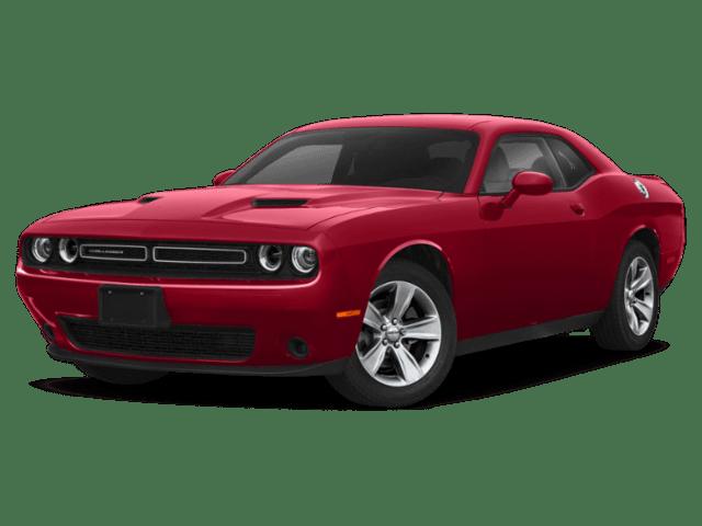 2019 Dodge Challenger in burgundy