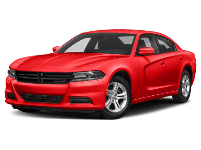 2019 Dodge Charger in red