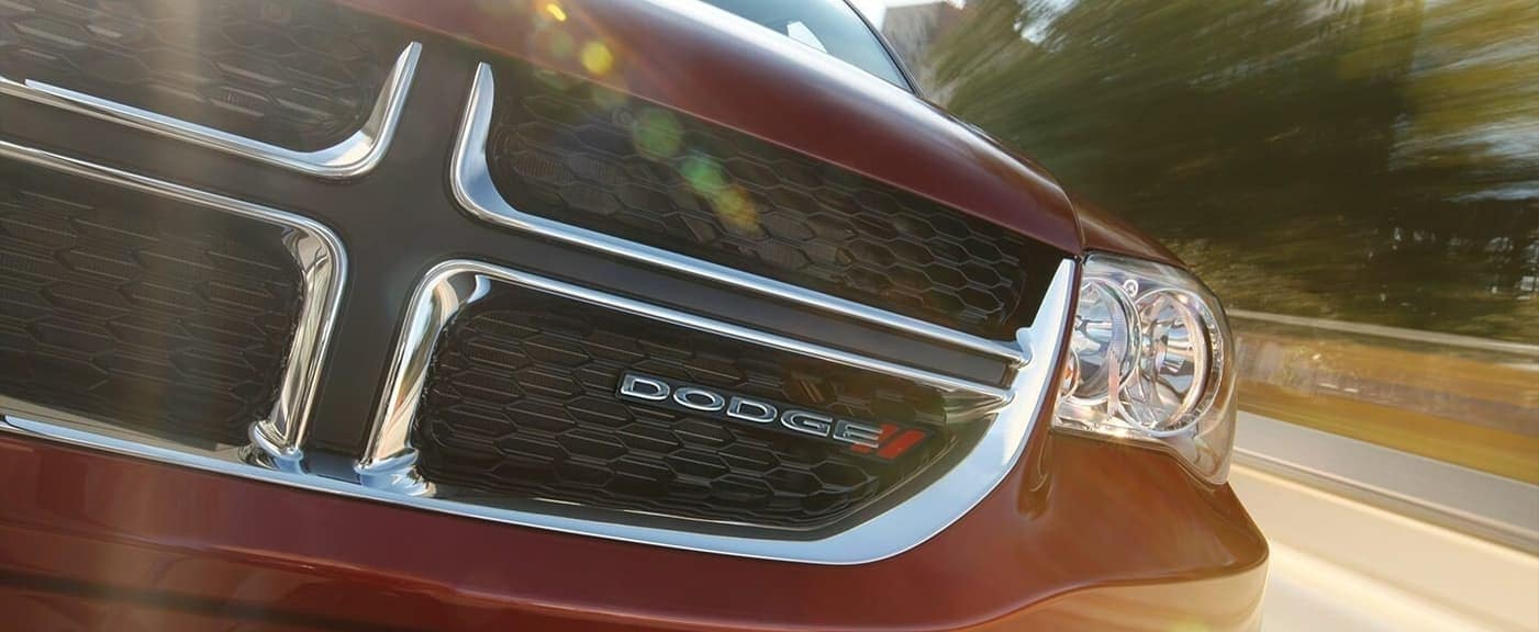 2020 Dodge Grand Caravan grille close up
