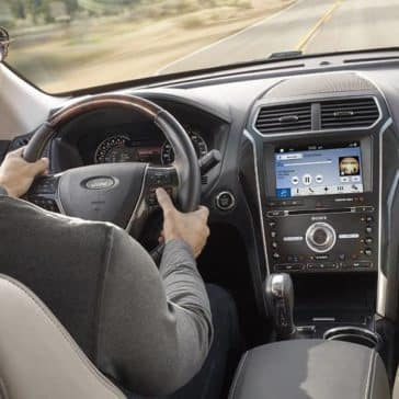 Picture of 2018 Ford Explorer Driver Dash Detail
