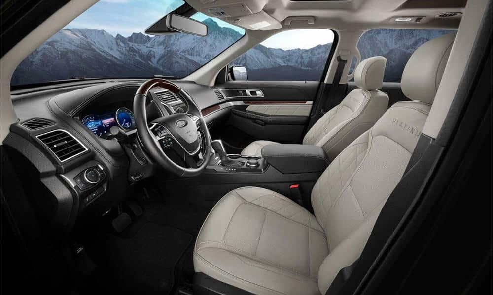 Picture of 2018 Ford Explorer Platinum Interior